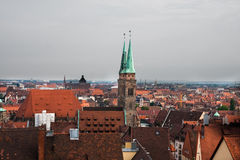 Cityscape of Nuremberg Stock Image