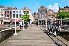 Free Cityscape Of Leiden, The Netherlands Royalty Free Stock Images - 183769589