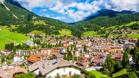 Free Cityscape Of Moena In The Dolomites, Italy Royalty Free Stock Photo - 58616805