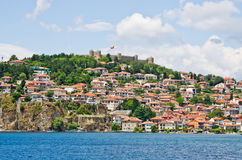 Cityscape of Ohrid, Macedonia Stock Photo
