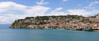 Cityscape of Ohrid, Macedonia Royalty Free Stock Image