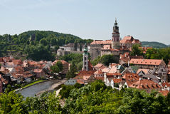 Cityscape of old European city Royalty Free Stock Photography