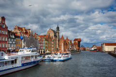 Cityscape of old Gdansk Royalty Free Stock Photography