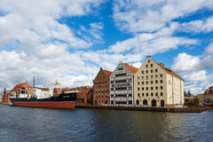 Cityscape of old Gdansk Stock Photography