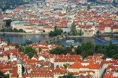 Cityscape of old prague Royalty Free Stock Photo