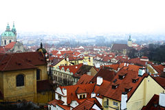 Cityscape of old prague Stock Photography