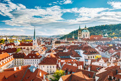 Cityscape of old Prague, Czech Republic Royalty Free Stock Photos