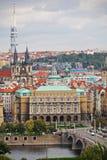 Cityscape of old Prague, Europe Royalty Free Stock Photo
