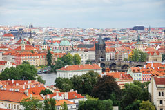 Cityscape of old Prague, Europe Royalty Free Stock Photo