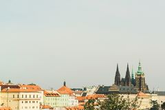 Cityscape of old town in Prague, Czech Republic. Cityscape of the old town in Prague, Czech Republic Royalty Free Stock Photo
