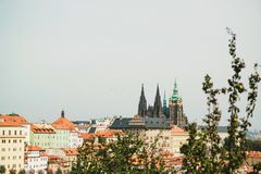 Cityscape of old town in Prague, Czech Republic. Cityscape of the old town in Prague, Czech Republic Stock Image