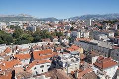 Cityscape of old town Split, Croatia Royalty Free Stock Photo