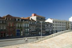 Cityscape - Oporto, Portugal Royalty Free Stock Photos