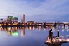 cityscape oregon portland Arkivfoto