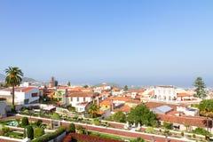 Cityscape of Orotava, Tenerife, Spain Stock Images