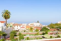 Cityscape of Orotava, Tenerife, Spain Stock Photography
