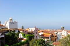 Cityscape of Orotava, Tenerife, Spain Stock Photo