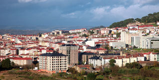 Cityscape of Ourense.Spain Stock Photography