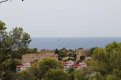Cityscape over Palma de Mallorca, Spain Royalty Free Stock Images