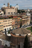 Cityscape from Palatine Hill Royalty Free Stock Images