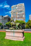 Cityscape of Palermo district, Buenos Aires, Argentina Royalty Free Stock Image