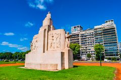 Cityscape of Palermo district, Buenos Aires, Argentina Stock Photo
