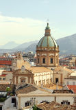 Cityscape of palermo Stock Image