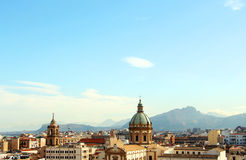Cityscape of palermo, the old town Royalty Free Stock Images