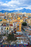 Cityscape of Palermo. Royalty Free Stock Image
