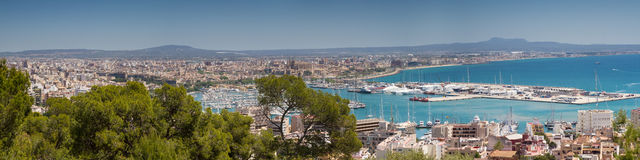 Cityscape of Palma Royalty Free Stock Image