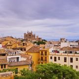 Cityscape of Palma of Majorca Stock Photography