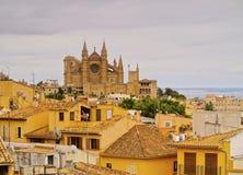 Cityscape of Palma of Majorca Stock Images
