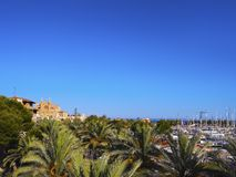 Cityscape of Palma of Majorca Royalty Free Stock Photos