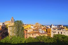 Cityscape of Palma of Majorca Royalty Free Stock Photography