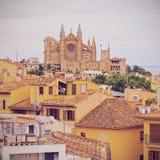Cityscape of Palma of Majorca Royalty Free Stock Image