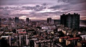 Cityscape Panarama Royalty Free Stock Images