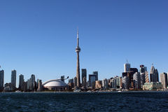 Cityscape panorama CN Tower Royalty Free Stock Image