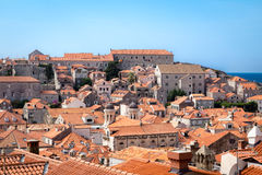 Cityscape panorama of Dubrovnik Royalty Free Stock Photo