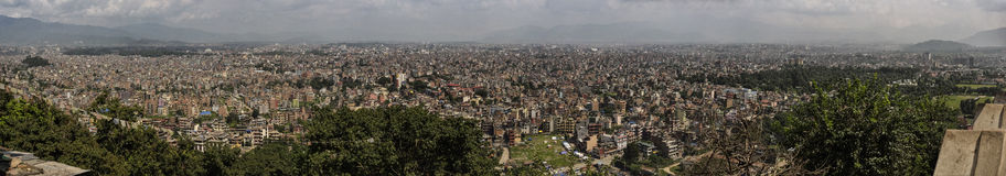 Cityscape panorama of Kathmandu. Nepal. Stock Images