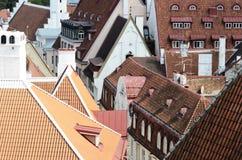 Cityscape panorama of Tallinn, Estonia Stock Photo