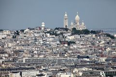 Cityscape of Paris Stock Image