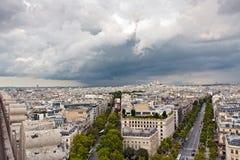 cityscape paris Royaltyfri Fotografi
