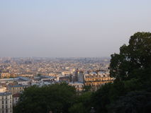 Cityscape of Paris Royalty Free Stock Photo