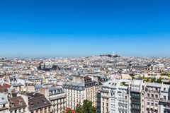 Cityscape of Paris Royalty Free Stock Photography
