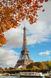 Cityscape of Paris with the Eiffel tower Royalty Free Stock Photos