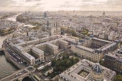Cityscape of Paris stock images