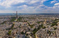 Cityscape of Paris France Royalty Free Stock Photo