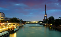 Cityscape of Paris Stock Photography