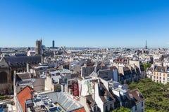 Cityscape of Paris Royalty Free Stock Photo