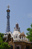 Cityscape of Park Guell Stock Photo